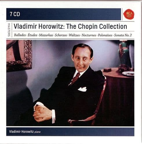 Vladimir Horowitz<br>The Chopin Collection<br>7CD + Boxset